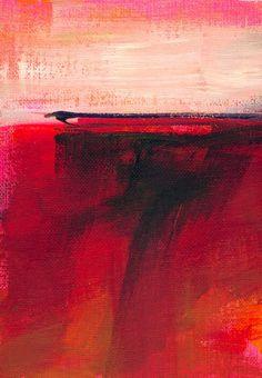 ANCIENT GROUND 10 Original Oil art painting contemporay abstract landscape Encaustic inspiration