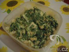 Recept Kuřecí prsa se špenátem - Manželova večeře - kuřecí se špenátem.