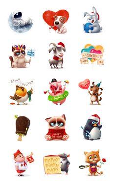 Подарки для Вконтакте, Character © АнтонКурятников