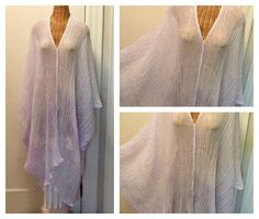 Lavender Caftan / Hand Dyed / Beach Wear / Midi / Cover Up / Caftan Dress / Muumuu / Sundress / Womens Spa One Size Cotton Resort by SavoyFaireSpa on Etsy