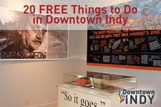 Find fun things to do in Downtown Indy!