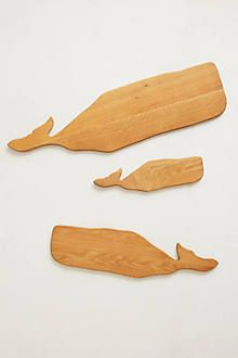 Whale Cutting / serving Boards