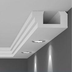 House Ceiling Design, Ceiling Design Living Room, Ceiling Light Design, Home Ceiling, Living Room Lighting, Ceiling Lights, Cove Lighting, Indirect Lighting, Corridor Lighting