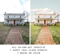 The Estate Collection of Actions for Real Estate Photographers will keep your clients coming back week after week.  Blue skies and green grass are just two of the effects you can achieve with this Action Set.  Actions for Photoshop and Photoshop Elements, real estate photography, how to edit interior images.