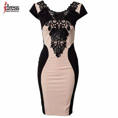 e7863f64224 Elegant Embroidery Bodycon Dress Patchwork Summer Style. Sexy Summer DressesCheap  DressesCasual ...