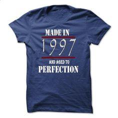 Made in 1997 And Aged To Perfection TA - #tshirt #boyfriend sweatshirt. CHECK PRICE => https://www.sunfrog.com/Birth-Years/Made-in-1997-And-Aged-To-Perfection-TA-RoyalBlue-10122982-Guys.html?68278