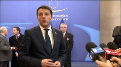 Bruxelles, Renzi al vertice straordinario dei capi di Stato e di Governo
