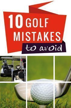 Do you want to pefect your golf game, then check out these ten golf tips to avoid. Learn how to become a better golf player or how to become a pro golf player.