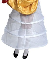 Image of Ladies White Hoop Skirt - Petticoats and Slips