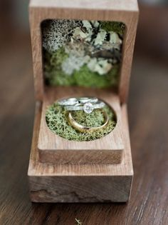 Summer Seattle wedding at Golden Garden Alternative Wedding Rings, Cool Wedding Rings, Wedding Ring Box, Wedding Engagement, Our Wedding, Dream Wedding, Wedding Blog, Engagement Rings, Wedding Summer