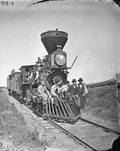 Woodburning Locomotive