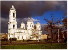 La catedral de Santo Principe Vladimir en San Petersburgo
