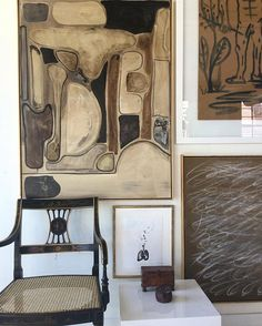 Finished a new piece this morning. I'm into Brown, black and white now I guess . #williammclure #abstractart #art  www.sunshinecoastinteriordesign.com.au
