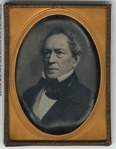 Edward Everett Daguerreotype, [circa 1850-1860]