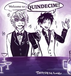 Exactly Shizuo! WHEN IN THE SERIES WILL THEY MEET?! At this rate it will actually be in Quindecim.....  taffydesu.tumblr.com/post/1137…