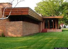 Muirhead Farmhouse. Location: Hampshire, Ill. Built: 1951. Frank Lloyd Wright Died 55 Years Ago, But His Legacy Lives On In These Stunning Buildings