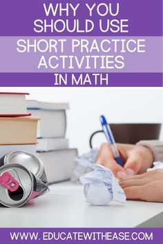Read this blog post to learn the disadvantages of long practice assignments and the benefits of using short practice activities in math. Short practice activities can include exit tickets, individual whiteboard practice, and short worksheets.