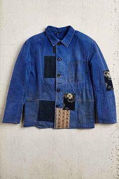 Vintage Patched Jacket