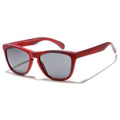 c95a6a53a9 Oakley Sunglasses Frogskins - Matte Red W  Grey. Extreme Supply