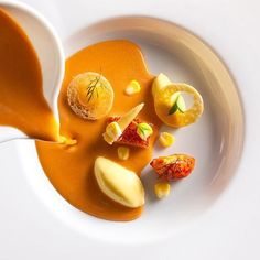 | Lobster bisque with corn | By @danielhumm