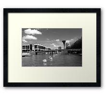 Bristol Harbourside and Pero's Bridge Framed Print