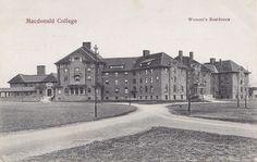 Women's Residence MACDONALD COLLEGE Ste Anne de Bellevue Quebec Canada 1907-15 | eBay