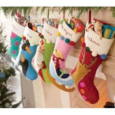 Image Detail for - Christmas Stockings | Cross Stitch Christmas Stockings | Personalized ...