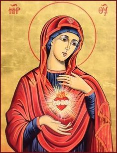 Icon of Immaculate Heart of Mary