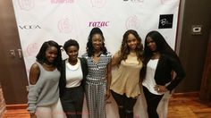 Fash (Lover4_Fashion), Brosia, Mirika Mayo Cornelius aka ME! (mirikacornelius.com), Chrisette Michele, Courtney Adeleye of The Mane Choice at Pose n Post Symposium in Columbia, SC.  I am one of the guest bloggers for the event.