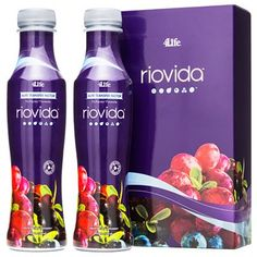Riovida - The one-and-only liquid dietary supplement in the world that combines the immune system benefits of 4Life Transfer Factor® with antioxidant-rich superfruits*  Primary Support: Immune System, Healthy Aging, Antioxidant, Overall Wellness* Secondary Support: Brain Health, Heart Health, Energy* www.4life.com/michellesaxon