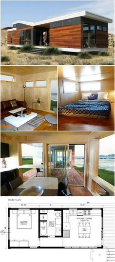 Modern and Innovative Park Model Tiny House Has In…