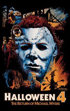 Halloween 4: The Return of Michael Myers (1988) fan poster