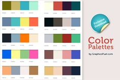 Friends, today's graphic resource is a set of 10 excellent color palettes... Read More
