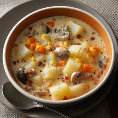 Veggie Chowder Recipe