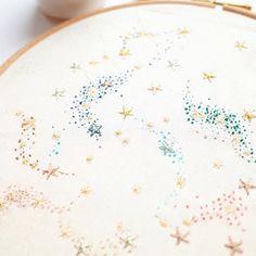 Bespoke Embroidery (@acru_) • Photos et vidéos Instagram Plates, Embroidery, Tableware, Kitchen, Instagram, Bespoke, Art, Weaving, Tricot