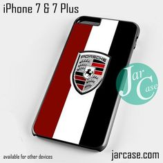 Porche Logo Phone case for iPhone 7 and 7 Plus