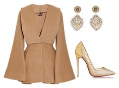 """""""Sem título #511"""" by bizzy1994 ❤ liked on Polyvore featuring Alexander McQueen, Miguel Ases and Christian Louboutin"""