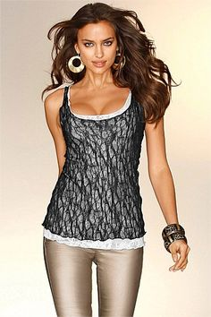 Women's Tops - European Collection Lace Tank
