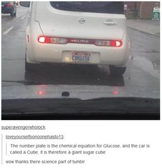 Clever license plate