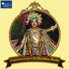 Gadadhara Pandita is among the group known as the Panca-tattva. Gadadhara Pandita is considered an incarnation of Srimati Radharani, the eternal consort of Sri Krishna. In remembrance of Srila Gadadhara Pandita's disappearance!