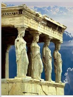 Les Caryatides Great Greece