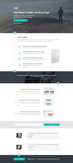 See the live template on Themeforest ➜ http://themeforest.net/item/livre-instapage/9376273