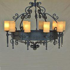 Spanish Revival Chandelier