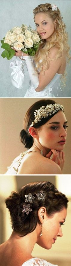 Inspiration for the brides looking for their perfect #weddinghairstyles