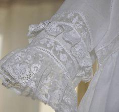 """Heirloom Tea Dress"" - Exquisite in White!"