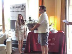 Entrega de premios Torneo Kenako Gourmet #golf #torneo #campeonato #premios #ganadores