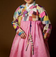 patchwork hanbok