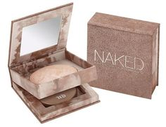 Urban Decay Naked Illuminated Shimmering Powder for Face and Body; beautiful on bare shoulders!