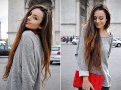 two-toned hair