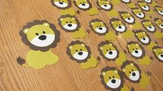 25 lions for the Lyon cubs - door decorating for teacher appreciation week. Thanks to my Cameo, this took less than an hour.